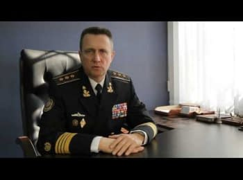 Admiral Ihor Kabanenko speaks about the situation in Ukraine and about creating headquarters of civilian opposition