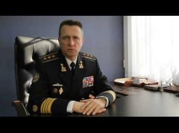 Адмірал Ігор Кабаненко говорить про ситуацію в країні та створення Штабу громадського спротиву