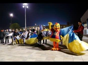 Камп Ноу (Барселона) за МИР в Україні! (12.03.2014)