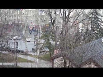 18+ (нецензурна лексика) Проросійський мітинг в Донецьку (16.03.2014)