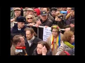 Propaganda on TV channels — the analysis