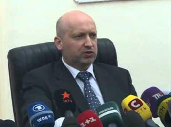 Александр Турчинов: Крым будет территорией Украины
