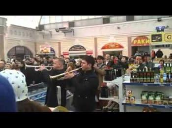 """Одеський """"Привоз"""" підтримує Євросоюз 22.03.2014"""