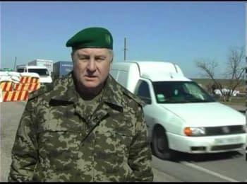 Генерал-майор прикордонної служби України читає вірш Т.Шевченка
