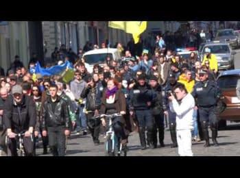 Euromaidan, Kharkov - March 23, 2014