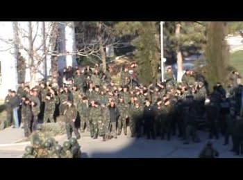 Штурм військової чатсини, Бельбек, 22.03.2014