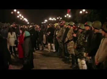 The last warning. Right Sector came to Verkhovna Rada, March 27, 2014