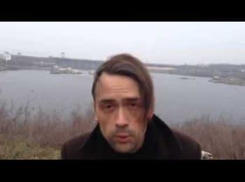 Актор Анатолій Пашинін про події в Україні