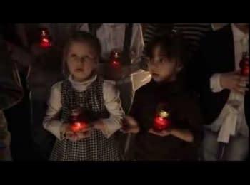 Українські діти просять Бога про щасливу долю свого народу