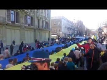 Мітинг в Одесі, 30 березня 2014