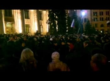 Харків, 06.04.2014. Штурм ОДА