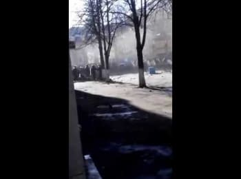 Водитель-камикадзе. Киев, 18.02.2014