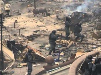 Штурм Майдана: силовики атакуют митингующих, 19.02.2014