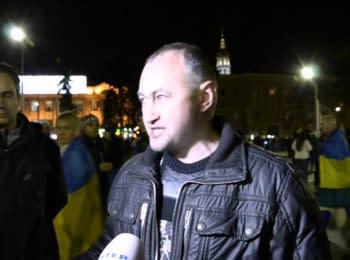 У Харкові формують патріотичні групи для захисту від сепаратистів