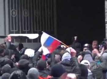 Штурм Горсовета в Харькове, 13.04.2014