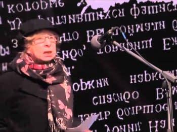 Марш правди: Лія Ахеджакова. Москва, 13.04.2014
