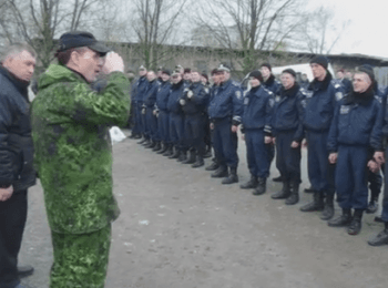 """New """"chief"""" of police in Gorlovka"""