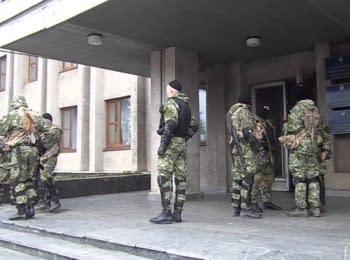 У Слов'янську «зелені чоловічки», 14.04.2014