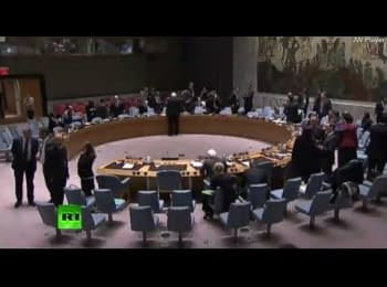 United Nations Security Council meeting concerning a situation in Ukraine, on April 17, 2014