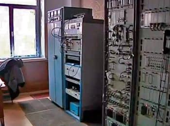 В Славянске вооруженные люди захватили телевышку и отключили украинские телеканалы, 17.04.2014