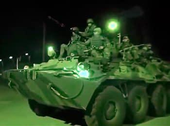 """""""Зеленые человечки"""" слили видео, как они захватывали Крым"""