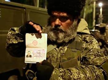 Перший відеодоказ: серед українських «повстанців» є громадяни Росії