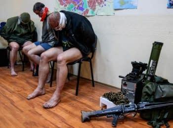«Ополченцы» захватили трех офицеров спецназа СБУ