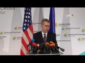 Geoffrey Pyatt: Russian Troops Crossing Ukrainian Border would Produce Tragic Consequences and Sharp Reaction from the US