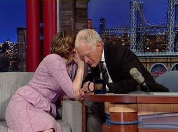 Hollywood actress of Ukrainian origin Vera Farmiga speaks of Ukraine and Putin on David Letterman's show