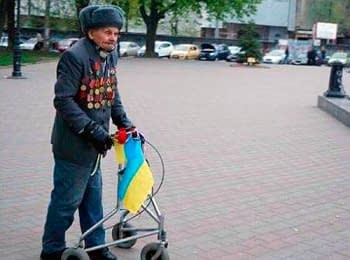 Inhabitants of Odessa presented to the veteran of the Great Patriotic War – the patriot of Ukraine - an electric wheelchair
