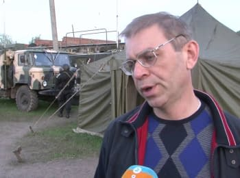 Sergiy Pashinsky: we don't use the weapon against civilians