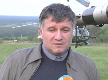 The Minister of Internal Affairs Arsen Avakov about anti-terrorist operation, on May 2, 2014