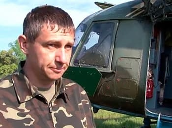 """""""We didn't expect that from """"peaceful"""" locals"""" - pilot of helicopter Olexiy Sliusarenko 03.05.2014"""