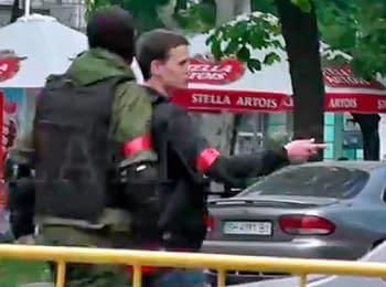 Clashes in Odessa. Beginning. 02.05.2014