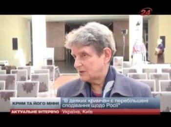 За законодавством Росії, половина Криму може бути виселена - член ради при президенті РФ з прав людини