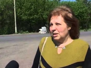 Residents of Kharkiv region help militaries and ask them do not leave
