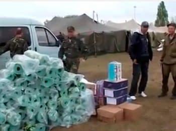 Жители Донецка и Харькова помогают украинским военным