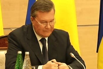 Заявление Виктора Януковича в Ростове-на-Дону