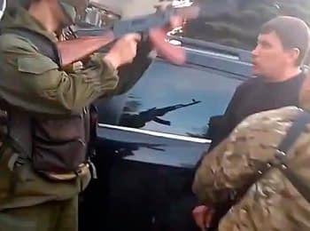 Конфлікт зі стріляниною у Красноармійську, 11.05.2014 (18+ нецензурна лексика)