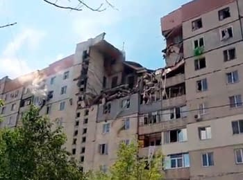 In Mykolaiv occurred explosion in a dwelling house, on May 12, 2014