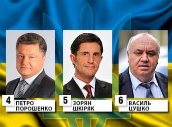Національні дебати кандидатів у президенти України, 10.05.2014