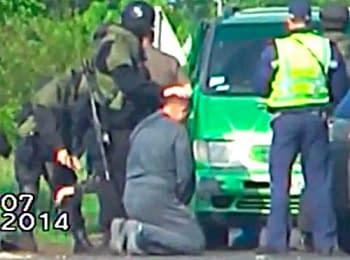 СБУ затримала організатора та групу бойовиків, що направлялися з Одеси до Слов'янська