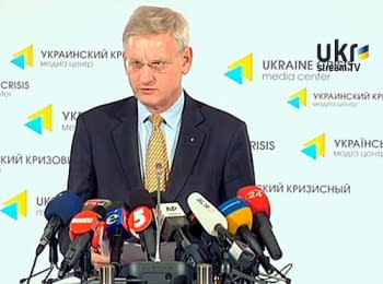 Carl Bildt - negotiations with separatists are inexpedient (English)