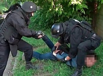 In Cherkassy the Security service of Ukraine detained the officer who prepared a takeover