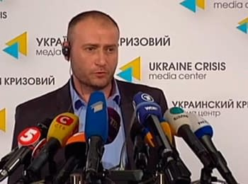 Dmytro Yarosh solicit to intensify anti-terrorist operation in the East of Ukraine