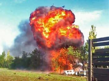 Бій під Волновахою, 22.05.2014. Військовослужбовці не розуміють дій гелікоптерів підтримки (18+ нецензурна лексика)