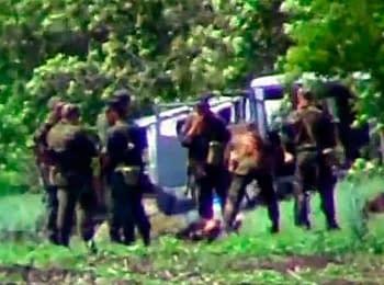 Battle near Volnovakha, after the fact