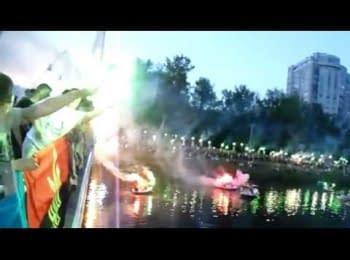 Харківські ультрас вшанували загиблих українських військових, 24.05.2014