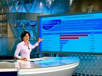 Russian television did Dmytro Yarosh the leader of presidential race