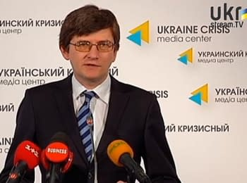 Andriy Magera about uniqueness of elections-2014 - a briefing, on May 26, 2014